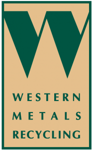 western metals recycling logo vertical